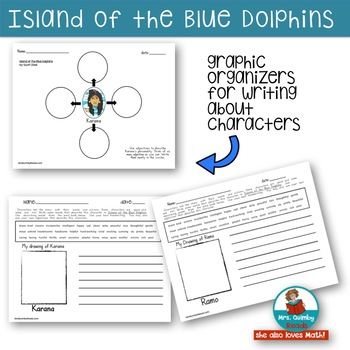 Island of the Blue Dolphins | Reading Response Pages | Book Companion