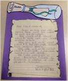 Island of the Blue Dolphins- 'Message in a Bottle' Writing Activity