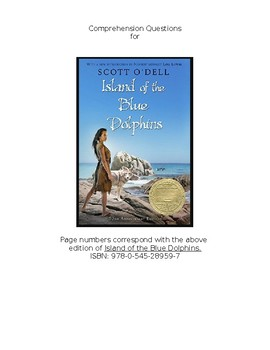 Island of the Blue Dolphins - Multiple Choice Comprehension Questions