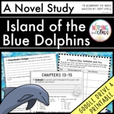 Island of the Blue Dolphins Novel Study Unit: comprehension, activities, tests