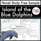 Island of the Blue Dolphins Novel Study Unit: FREE Sample