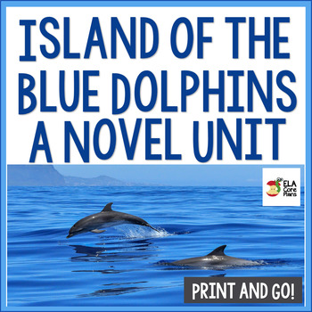 Island of the Blue Dolphins Novel Unit ~ Activities, Handouts, Tests!