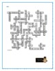 Island of the Blue Dolphins: Prereading Crossword--Pair w/Bookmarks Plus!