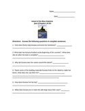 Island of the Blue Dolphins Quiz Chapters 11-15