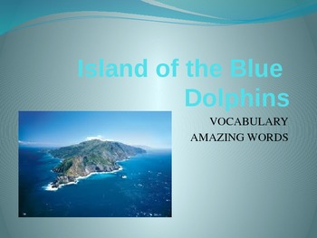 Island of the Blue Dolphins: Reading Street 5th Grade