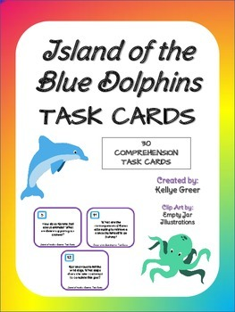 Island of the Blue Dolphins Task Card Set