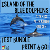 Island of the Blue Dolphins Test Bundle ~ Three tests included!