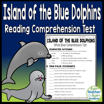Island of the Blue Dolphins Test: Final Book Quiz with ...
