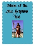 Island of the Blue Dolphins Test (w/Key)--CCLS aligned