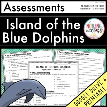 Island of the Blue Dolphins: Tests, Quizzes, Assessments