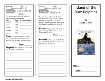 Island of the Blue Dolphins Thinkmark