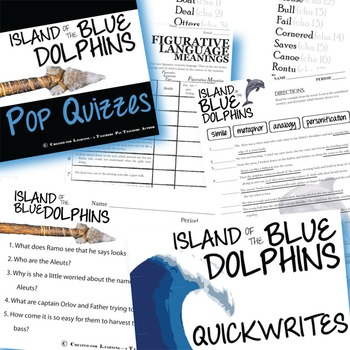 The ISLAND OF THE BLUE DOLPHINS Unit Novel Study - Literature Guide