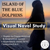 Distance Learning Island of the Blue Dolphins Visual Novel Study