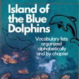 Island of the Blue Dolphins - Vocabulary Lists