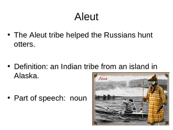 Island of the Blue Dolphins Vocabulary Powerpoint Ch. 1-3