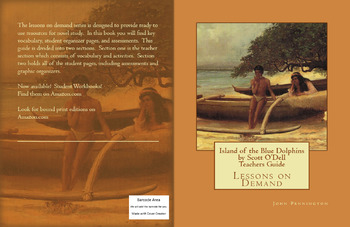 Island of the Blue Dolphins by Scott O'Dell Teachers Guide
