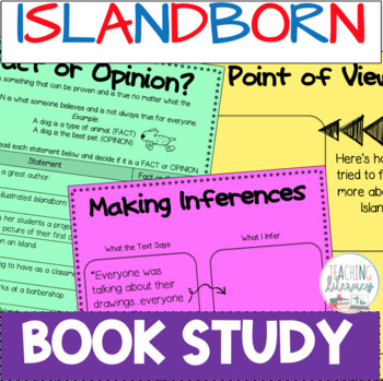 BOOK STUDY - Islandborn by Junot Diaz - 40 Differentiated Activities/Printables