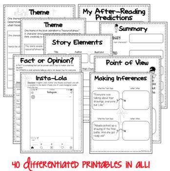BOOK STUDY - Islandborn by Junot Diaz - 40 Differentiated Activities/Printables