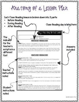CLOSE READING UNIT - Islandborn by Junot Diaz - 3 Days of Lessons - CCSS