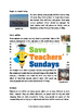 Islands Comprehension Lesson plan, Information text and Questions