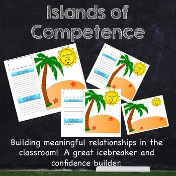 Islands of Competence Ice Breaker, Relationship Builder (Mindset and Resilience)