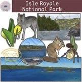 Isle Royale National Park Clipart Set