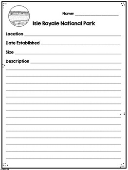 Isle Royale National Park Research Project