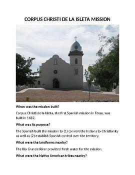 Isleta Mission in Spanish Colonial Texas