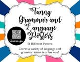 Isn't Language Funny? - Funny Grammar and Language Joke Posters