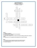 Isn't it Ionic - Vocabulary Crossword
