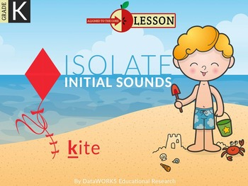 Isolate Initial Sounds - COMPLETE BUNDLE