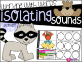 Isolating Sounds {A Working With Words Center}