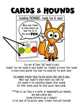 Phonemic Awareness {Isolating Sounds} for Kindergarten & First Grade Remediation