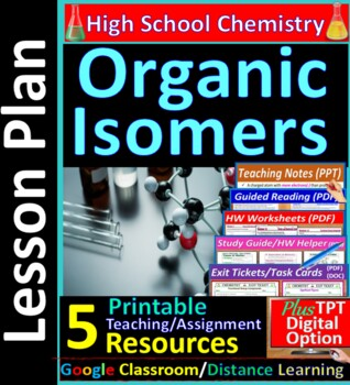 Isomers of Organic Compounds, Structures & Formulas: Essential Skills Lesson #46