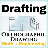 Orthographic Worksheet | Spatial Visualization | Engineering