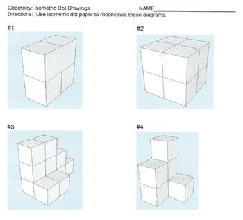 Isometric Dot Drawing