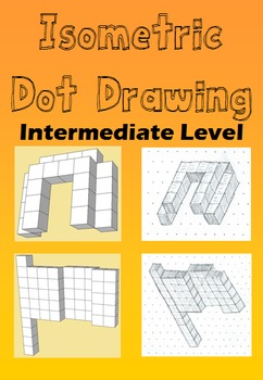 Isometric Dot Drawing - Intermediate Level