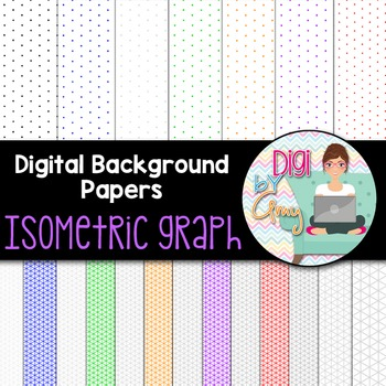 Isometric Graph Paper clip art