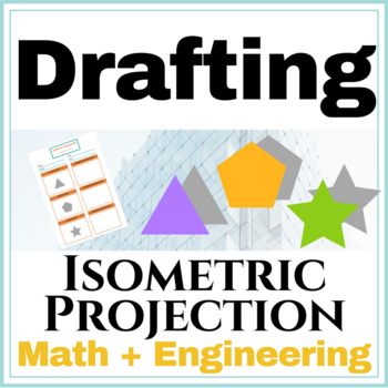 Isometric Projection Drawing Worksheet | Spatial Visualization | Engineering