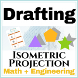Isometric Projection Drawing Worksheet | Spatial Visualiza