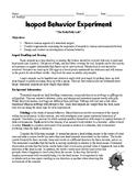 Isopod (Pillbug) Behavior Lab Activity