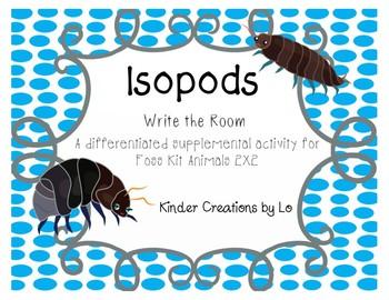 Isopod Write the Room (Animals 2X2)