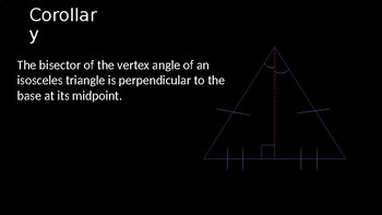 Isosceles Triangle Theorem - PowerPoint Lesson (4.4)