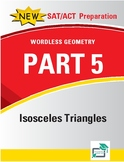 Isosceles Triangles - 12 pages 60 questions with answer key