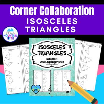 Isosceles Triangles Corner Collaboration