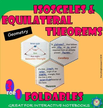 Isosceles Triangle Theorem Teaching Resources Teachers Pay Teachers