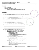 Isosceles and Equilateral Triangle Geometer's Sketchpad Lesson