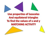 Isosceles and Equilateral Triangles