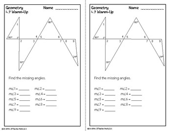 Isosceles and Equilateral Triangles Lesson