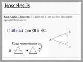 Isosceles and Right Triangles